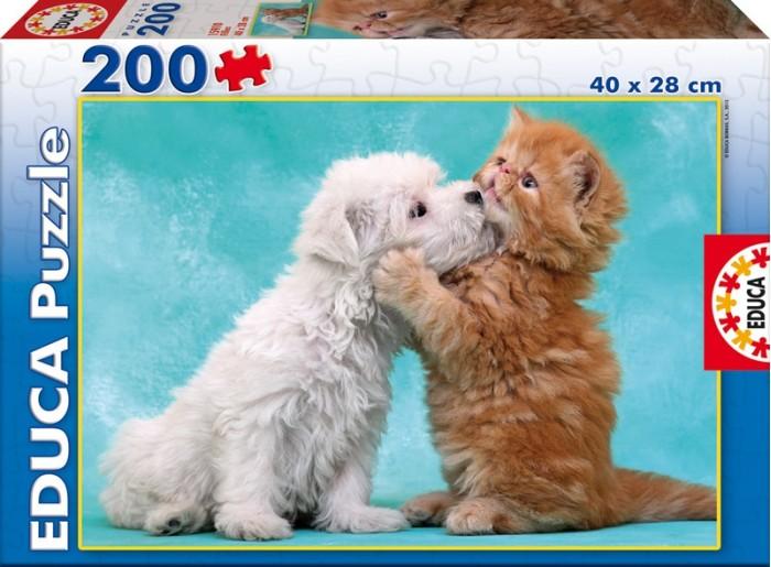 Пазлы Educa Пазл Нежные объятья 200 деталей пазлы educa пазл животные от 12 мес