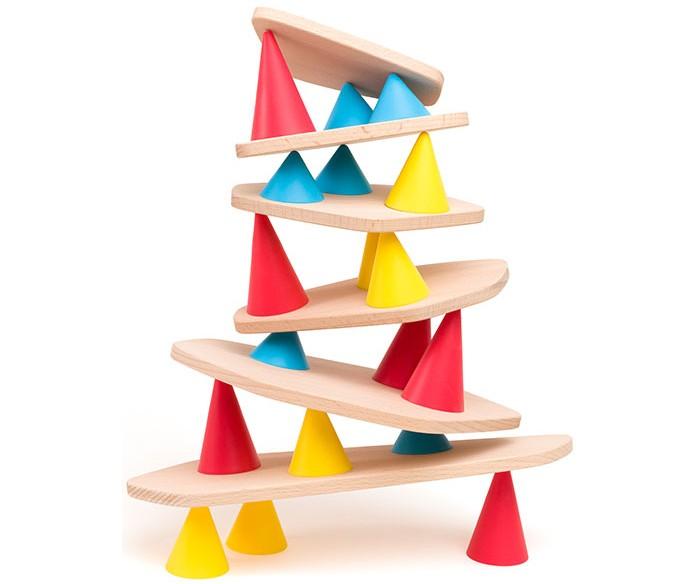 Деревянная игрушка Oppi Piks Игровой набор Пикс маленький 24 шт.