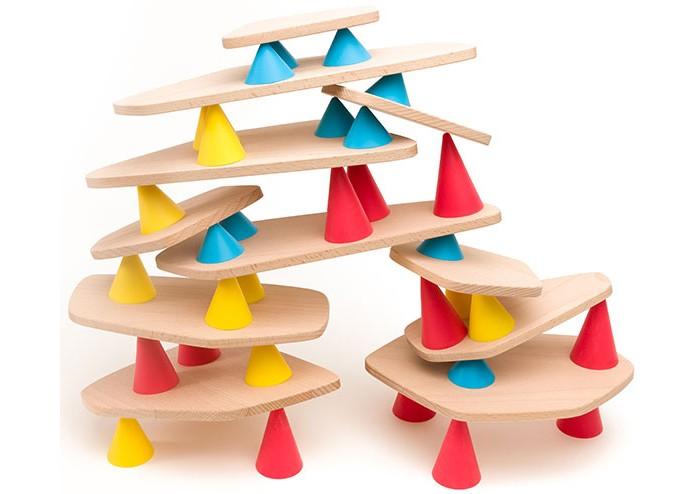 Деревянная игрушка Oppi Piks Игровой набор Пикс средний 44 шт.