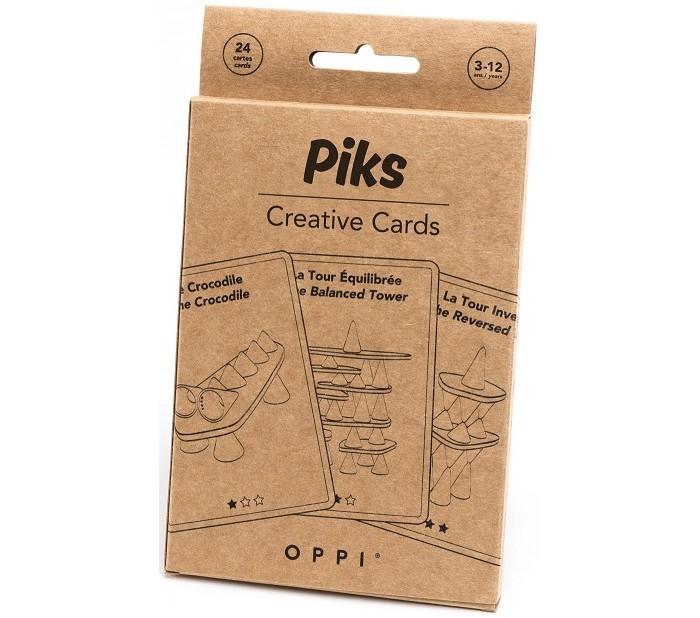 Развивающая игрушка Oppi Piks Образовательные карточки 24 шт.