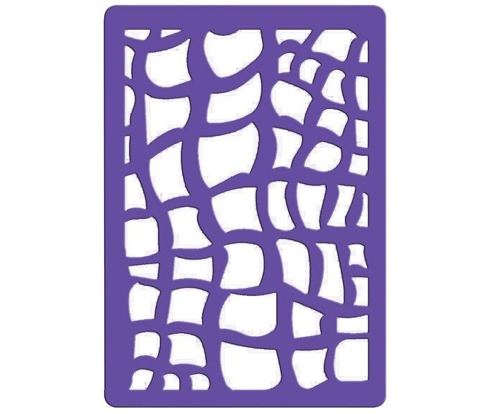 Наборы для творчества Fancy Creative Трафарет для тиснения Питон пластик A6 набор для творчества creative creative набор для творчества гелевые свечи