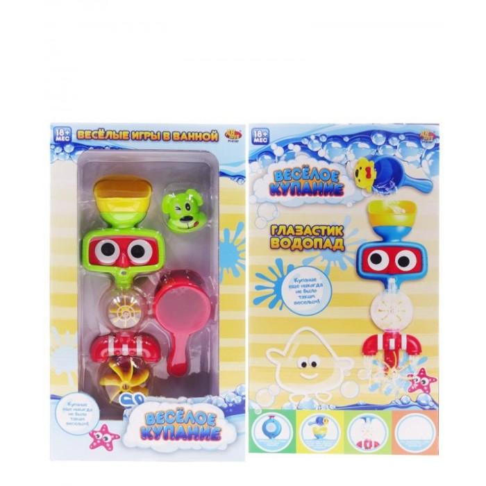 Игрушки для ванны ABtoys Игровой набор Веселое купание Глазастик-фонтан для ванны