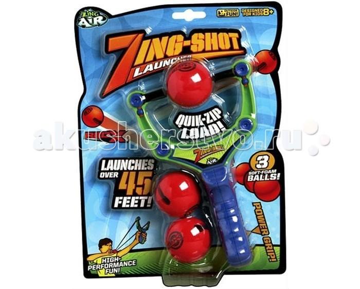 Игрушечное оружие Zing Рогатка с 3-мя мягкими шариками массажеры механические тимбэ продакшен массажеры ленточные с шариками