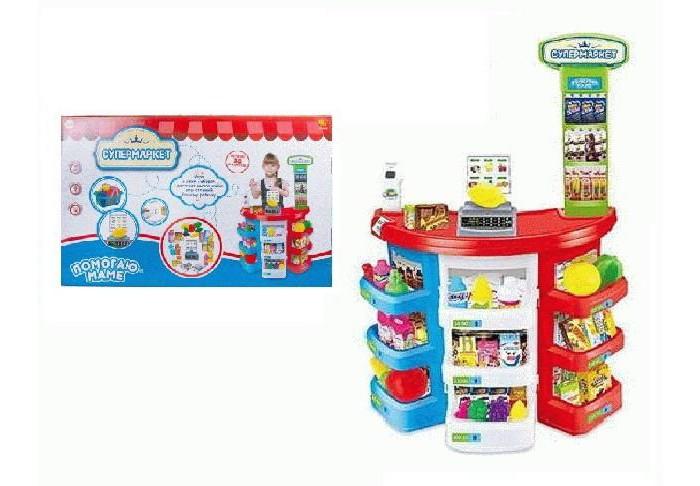 Ролевые игры ABtoys Игровой набор Помогаю маме Супермаркет (38 предметов)