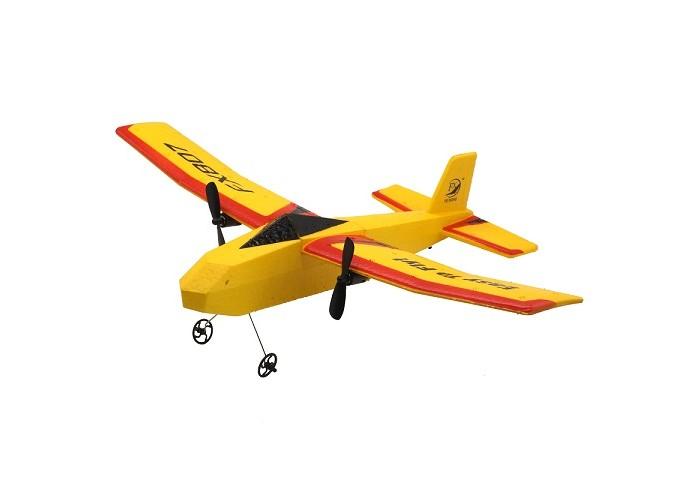 Фото - Радиоуправляемые игрушки HK Industries Самолет радиоуправляемый для игры дома и на улице для начинающих радиоуправляемые игрушки наша игрушка самолет радиоуправляемый 163 6688 67