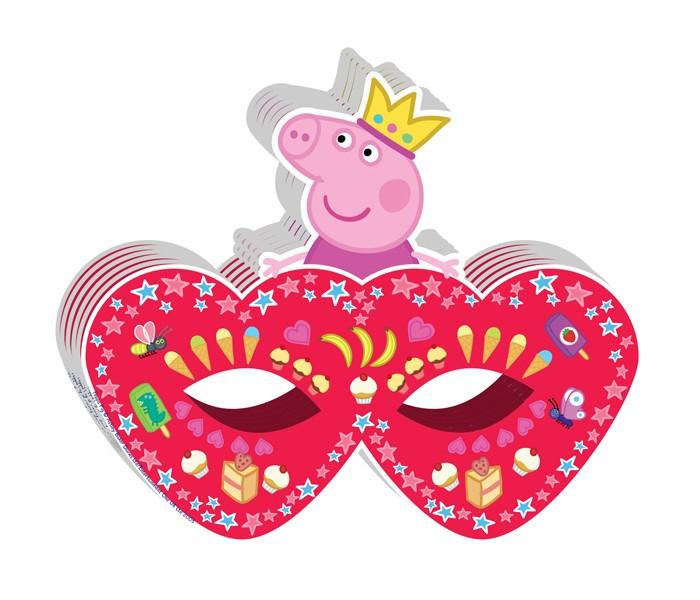 Товары для праздника Olala Маска бумажная Пеппа-принцесса товары для праздника olala подарочный набор посуды пеппа принцесса