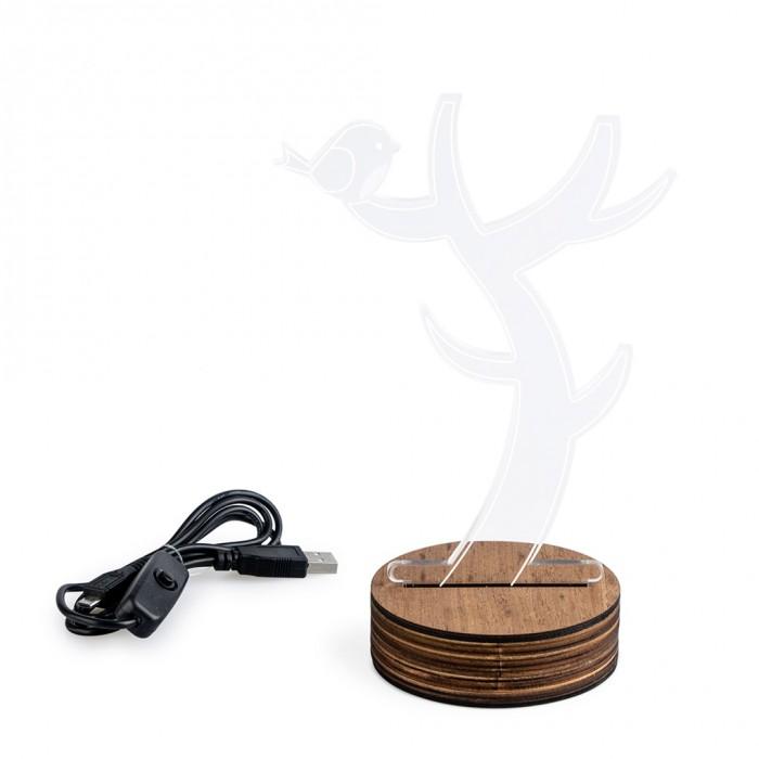 Купить Аксессуары для мебели, Balvi Подставка-ночник для украшений Light Tree