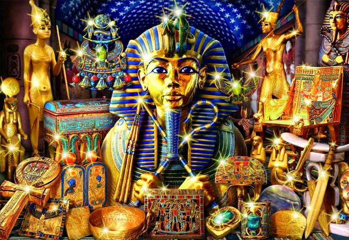 Пазлы Educa Пазл Сокровища Египта 1000 деталей пазлы educa пазл манхеттен