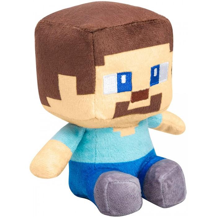 Мягкая игрушка Minecraft Mini Crafter Steve 13 см