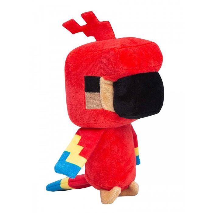 Мягкая игрушка Minecraft Happy Explorer Parrot 18 см