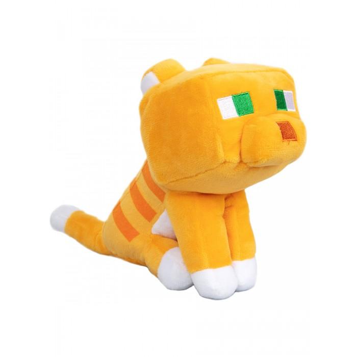 Мягкая игрушка Minecraft Happy Explorer Tabby Cat 23 см