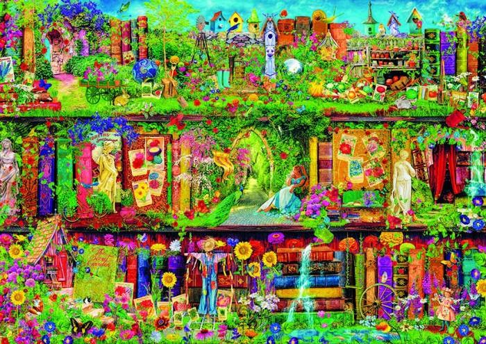 Пазлы Educa Пазл Таинственный сад 1500 деталей пазл educa 1500 эл 85 60см венеция в сумерках