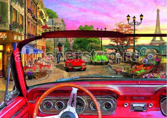 Пазлы Educa Пазл Париж в автомобиле 1500 деталей пазлы educa пазл эйфелева башня париж 500 элементов