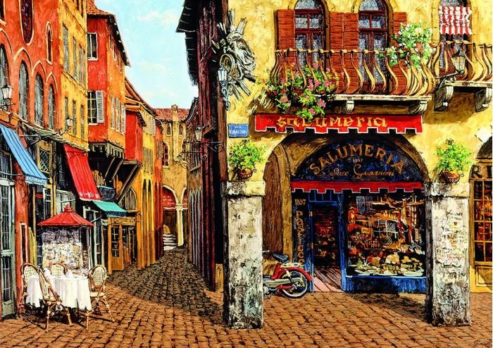Пазлы Educa Пазл Цвета Италии - салюмерия, Виктор Швайко 1500 деталей виктор халезов увеличение прибыли магазина