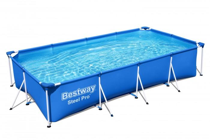 Бассейны Bestway Бассейн каркасный прямоугольный 400х211х81 см