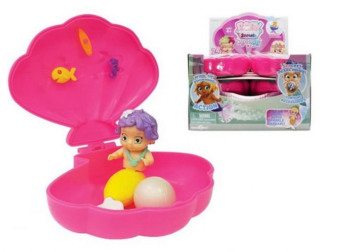HeadStart Куколка-русалка в ракушке Baby Secrets Merbabes 77590/1
