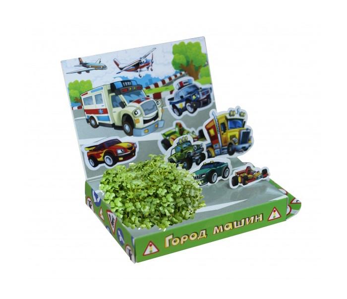 Наборы для выращивания Happy Plant Детский набор для выращивания Город машин наборы для выращивания happy plant детский набор для выращивания мир русалочки