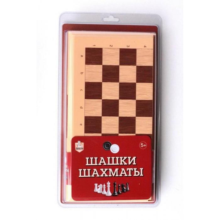 Настольные игры Десятое королевство Игра настольная Шашки-Шахматы большие настольные игры наша игрушка настольная игра шахматы шашки 2 в 1