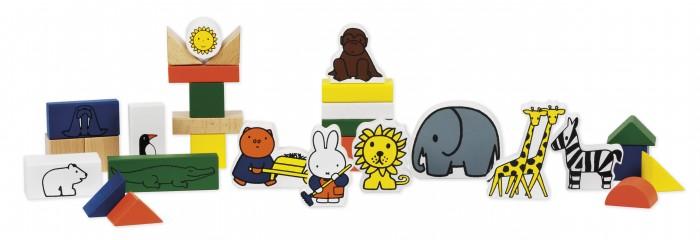 Деревянные игрушки Totum Набор для творчества Miffy Зоопарк недорого