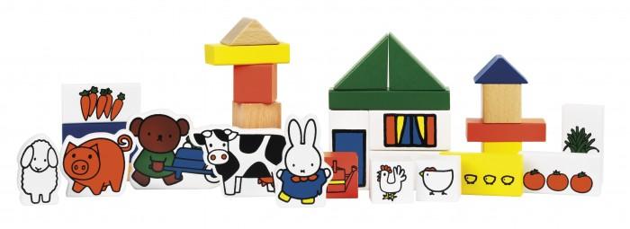 Деревянные игрушки Totum Набор для творчества Miffy Ферма недорого