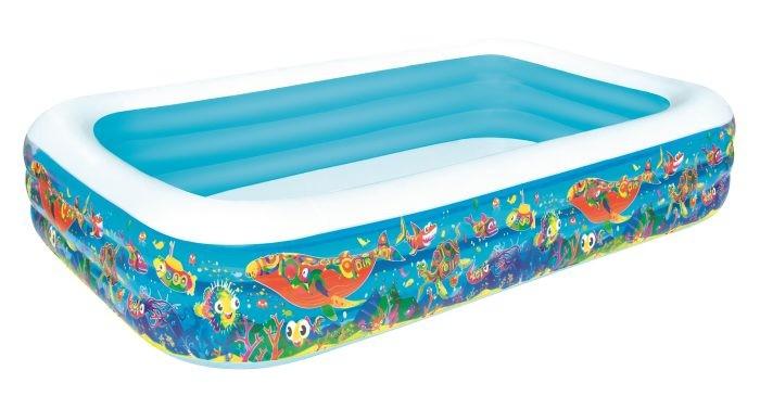 Купить Бассейны, Bestway Надувной бассейн для детей Подводный мир 305х183х56 см