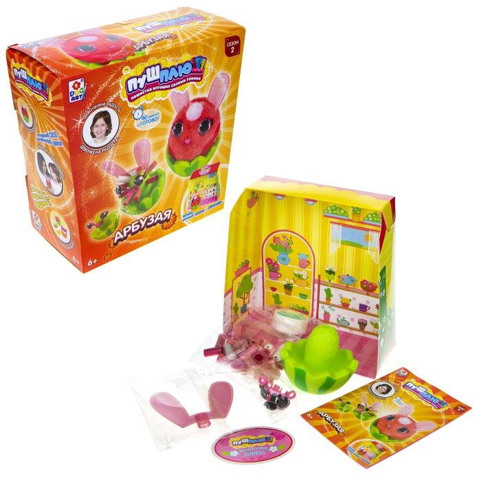 Наборы для творчества 1 Toy Пуш-Плюш Набор для творчества Арбузая