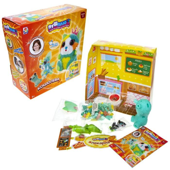 Наборы для творчества 1 Toy Пуш-Плюш Набор для творчества Кошолева