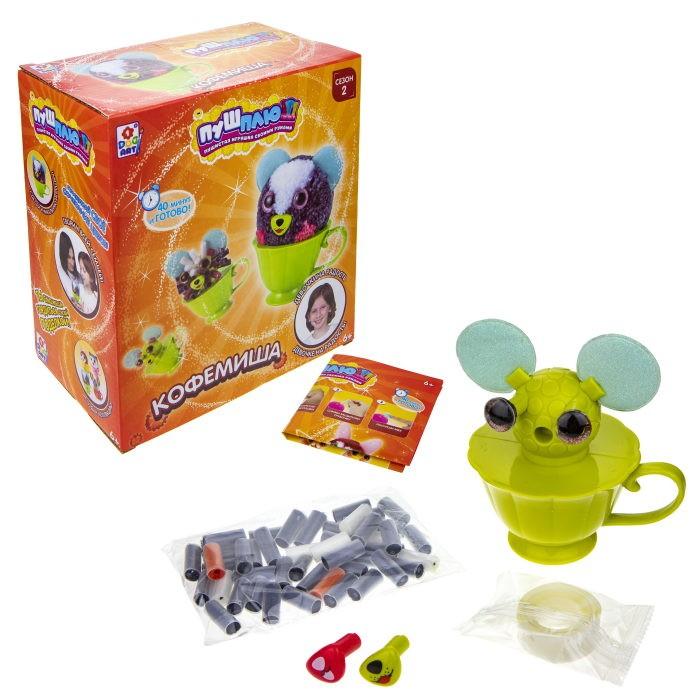 Наборы для творчества 1 Toy Пуш-Плюш Набор для творчества Кофемиша