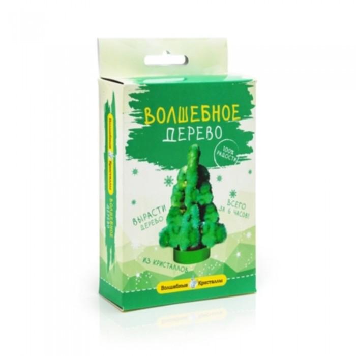 Наборы для выращивания Волшебные кристаллы набор Дерево зеленое цена