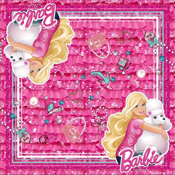 Товары для праздника Olala Салфетки Barbie двухслойные 20 штук товары для праздника olala салфетки barbie двухслойные 20 штук