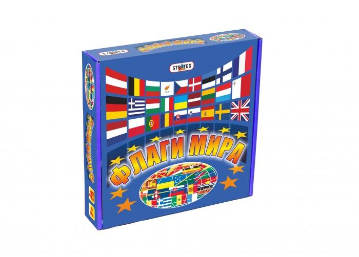 Настольные игры Strateg Игра настольная Флаги мира