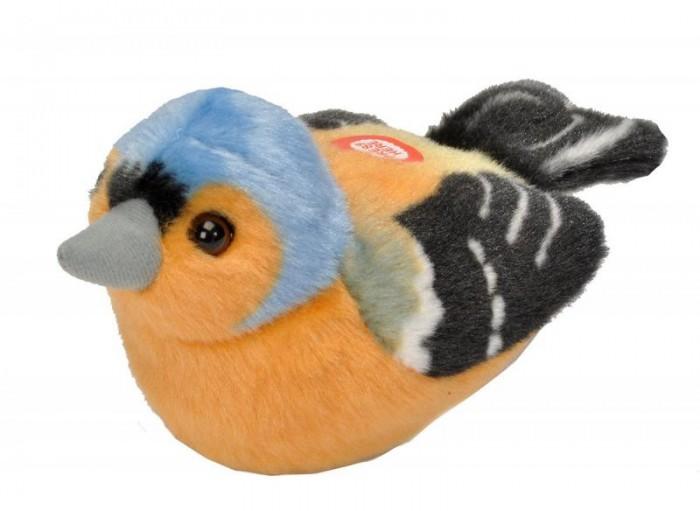 Мягкая игрушка Wild Republic Птицы озвученные Зяблик 13-16 см