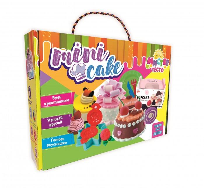 Тесто для лепки Strateg Набор теста для лепки Мистер тесто - mini cake