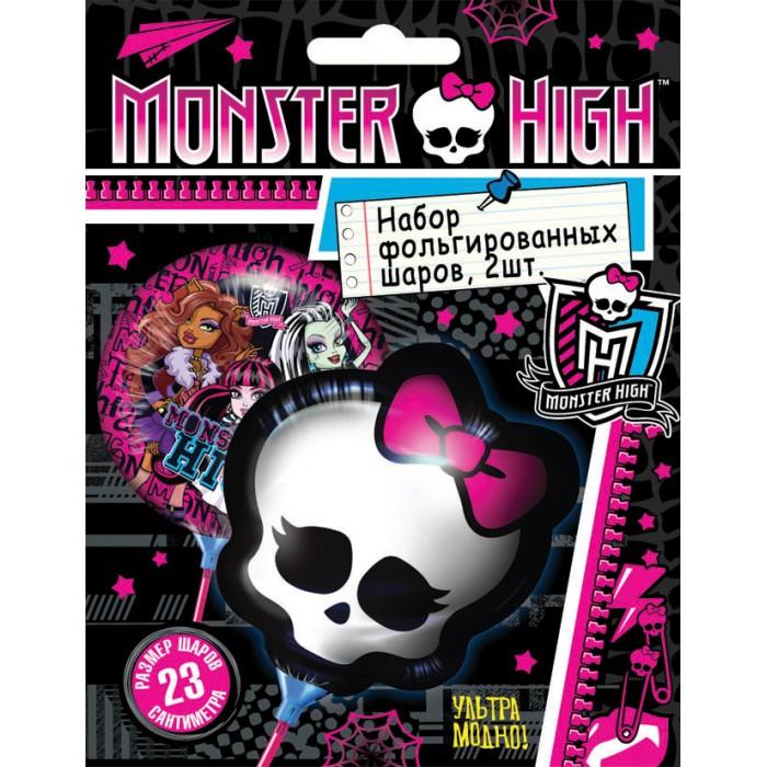 Товары для праздника Olala Набор фольгированных мини-шаров Monster High товары для праздника olala салфетки barbie двухслойные 20 штук
