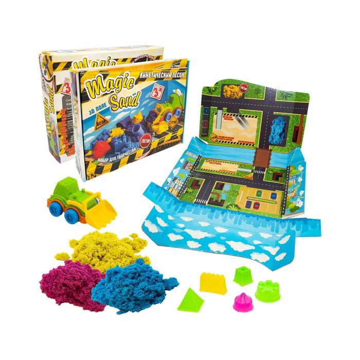 Кинетический песок Strateg Набор для творчества Magic sand набор песка для игры и творчества angel sand голубой
