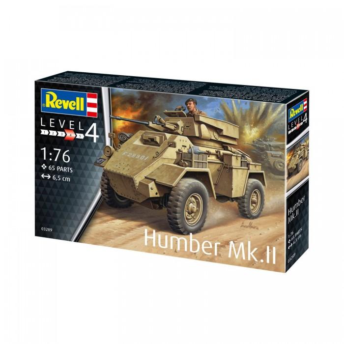 Фото - Сборные модели Revell Сборная модель Британский средний бронеавтомобиль Humber Mk.II 1:76 сборная модель revell ah 64 apache 06631 1 100