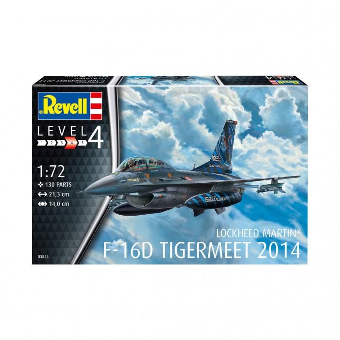 Фото - Сборные модели Revell Сборная модель Легкий истребитель F-16D Fighting Falcon 1:72 сборная модель revell ah 64 apache 06631 1 100
