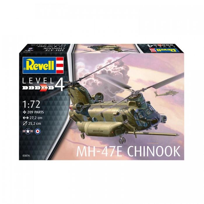 Фото - Сборные модели Revell Сборная модель Американский военно-транспортный вертолёт MH-47 Chinook 1:72 сборная модель revell ah 64 apache 06631 1 100