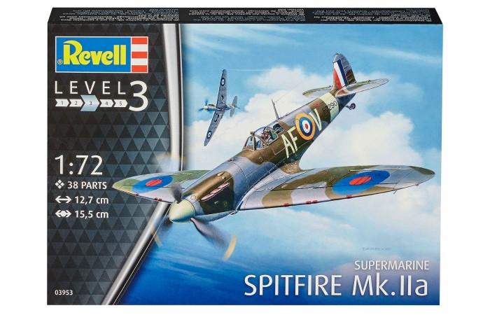 Сборные модели Revell Сборная модель Истребитель Spitfire Mk.IIa 1:72