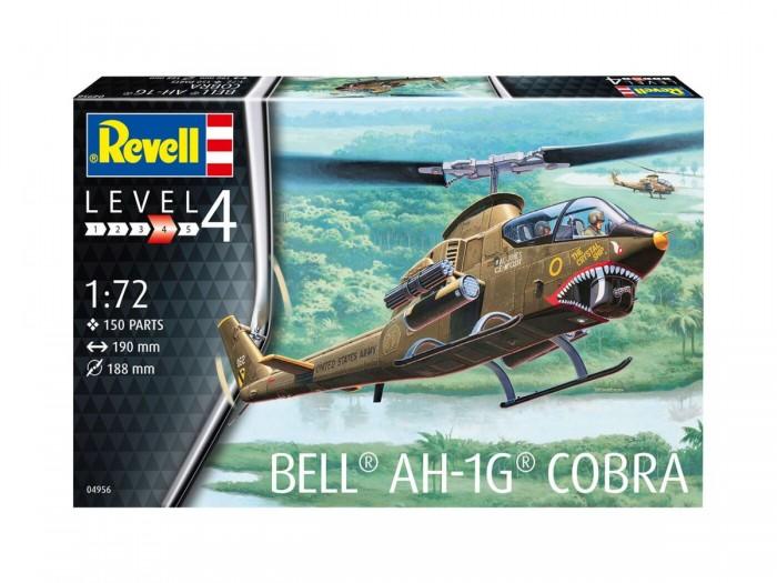 Фото - Сборные модели Revell Сборная модель вертолета Bell AH-1G Кобра 1:72 сборная модель revell ah 64 apache 06631 1 100
