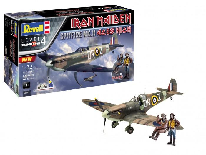 Фото - Сборные модели Revell Сборная модель Подарочный набор Spitfire Mk.V Iron Maiden 1:24 сборная модель revell ah 64 apache 06631 1 100