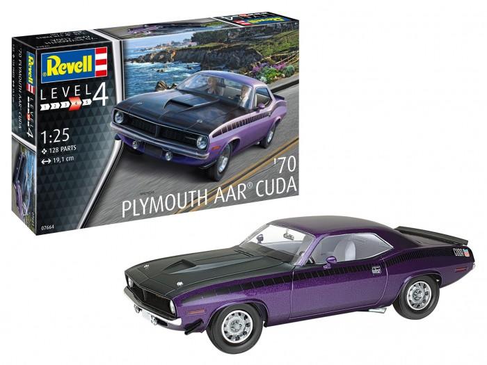 Купить Сборные модели, Revell Сборная модель Автомобиль 1970 AAR Cuda 1:24