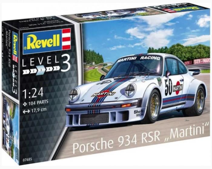 Фото - Сборные модели Revell Сборная модель Автомобиль  Porsche 934 RSR Martini 1:24 сборная модель revell ah 64 apache 06631 1 100