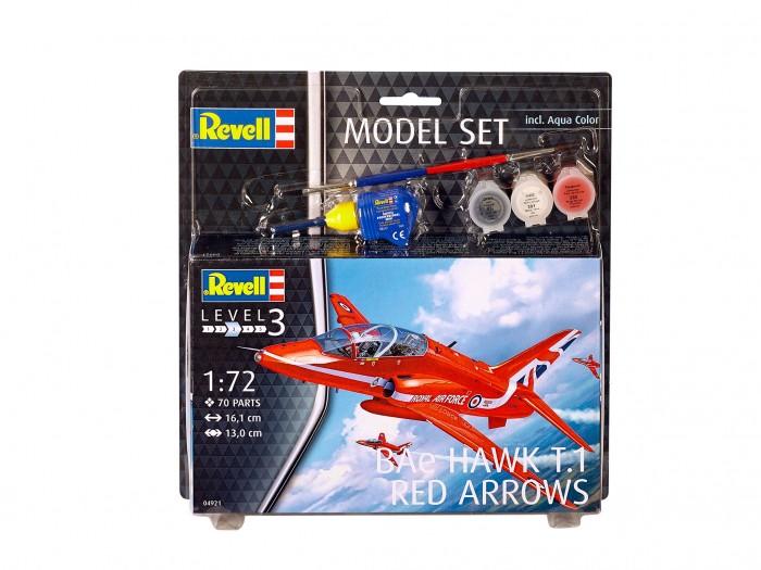 Фото - Сборные модели Revell Сборная модель Самолет BAe Hawk T.1 Red Arrows 1:72 сборная модель revell ah 64 apache 06631 1 100