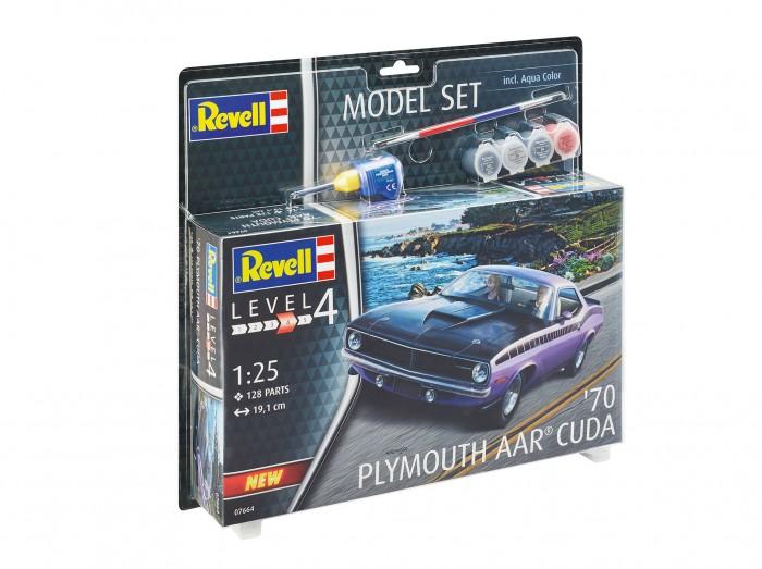 Купить Сборные модели, Revell Сборная модель Автомобиль 1970 Plymouth AAR Cuda 1:24