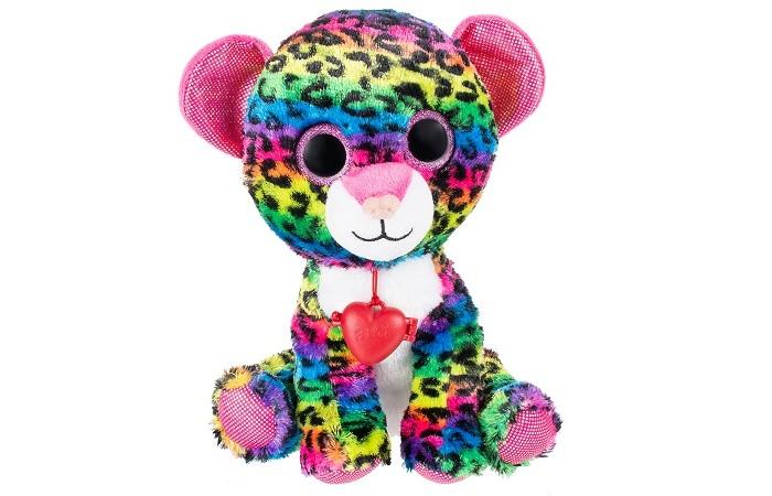 Купить Мягкие игрушки, Мягкая игрушка Fancy Глазастик Леопард 23 см GLP0S