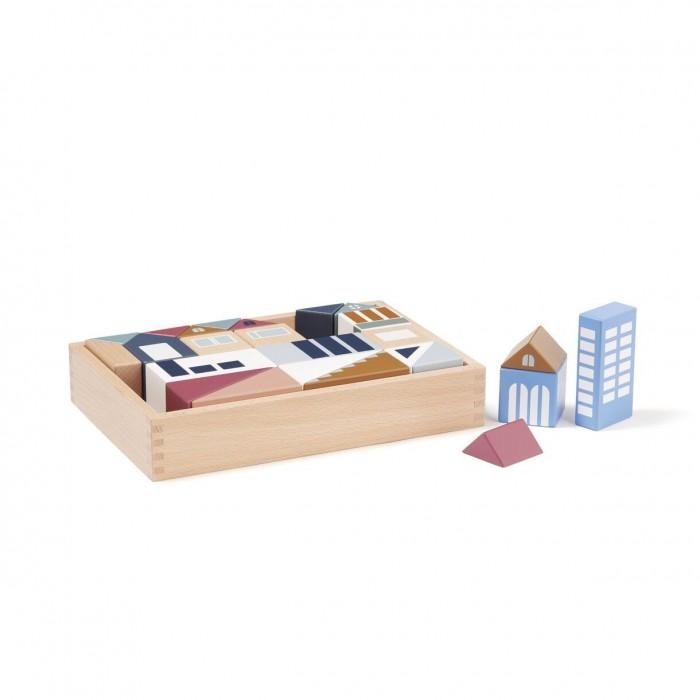 Деревянные игрушки Kid's Concept Блоки Aiden Город