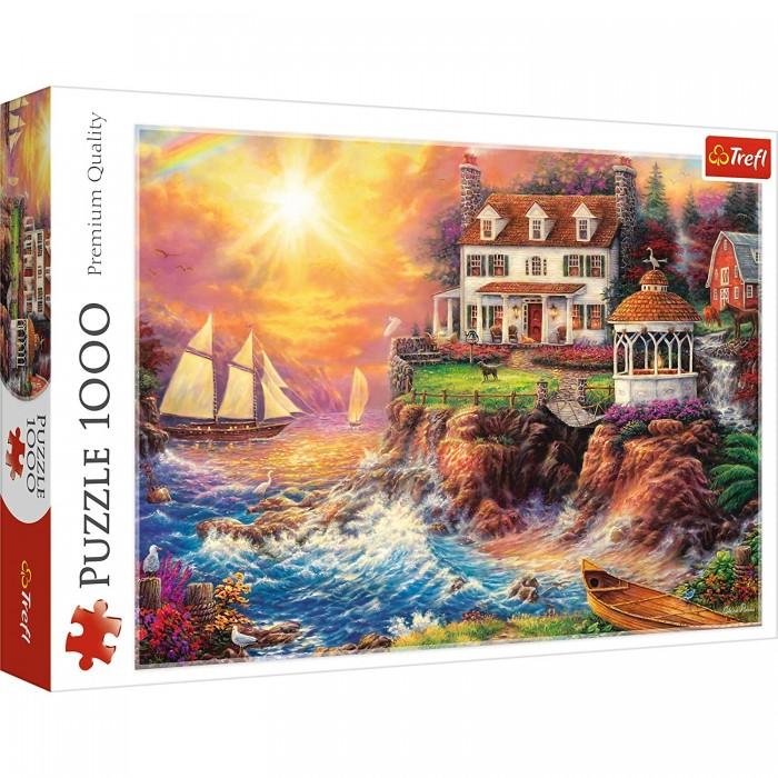Купить Trefl Пазлы Спокойная гавань (1000 элементов)