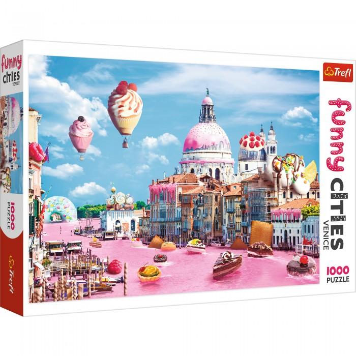 Пазлы Trefl Пазлы Funny Cities Сладости в Венеции (1000 элементов) пазлы 1000 деталей сладости в венеции