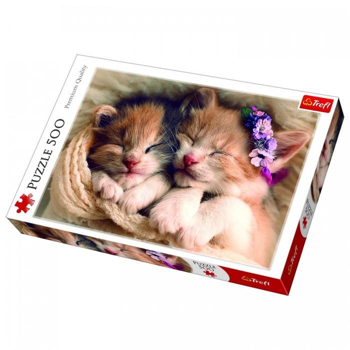 Купить Trefl Пазлы Спящие котята (500 элементов)